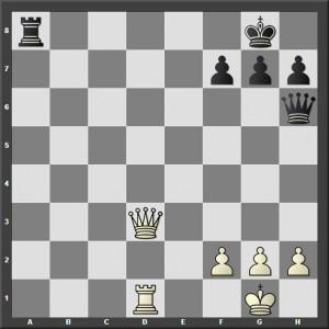 Beli igra i daje mat u 2 poteza